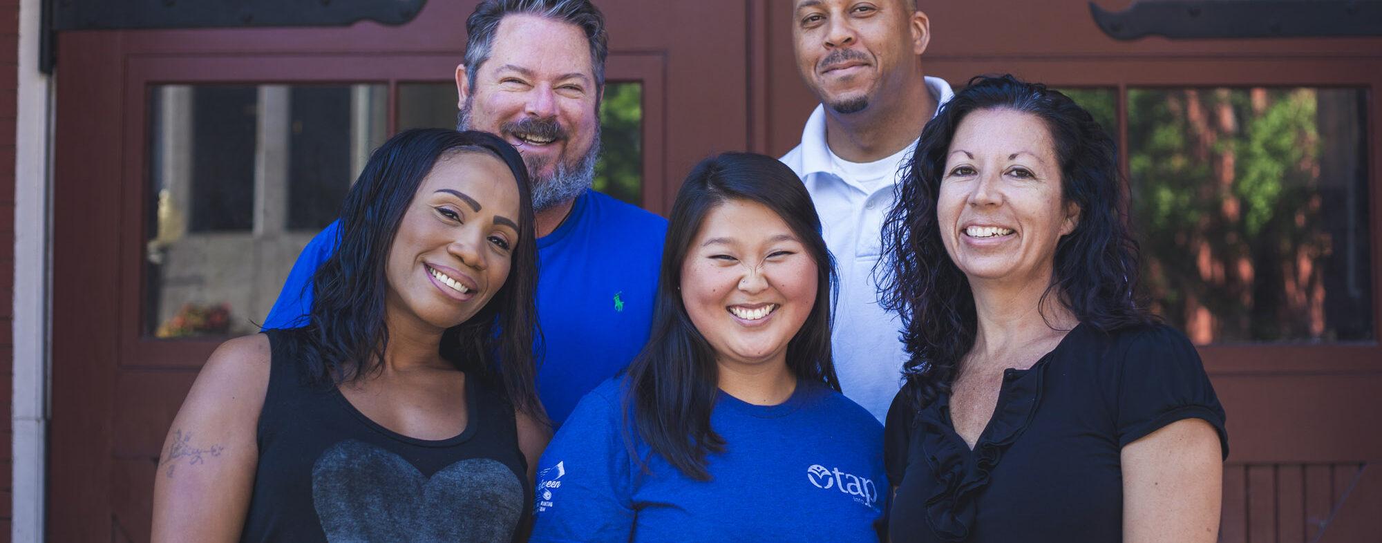 TAP staff, volunteer, and interns